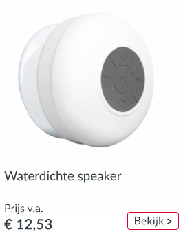 Warerdichte bluetooth speaker